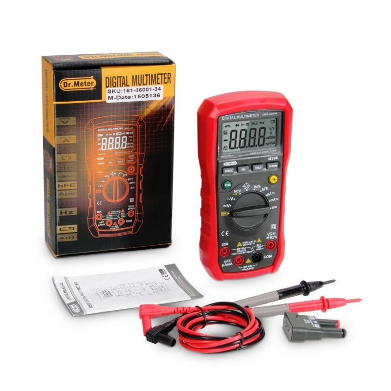 Digital Clamp Meter Tester AC/DC Volt Amp Multimeter Auto Ranging Current Diode