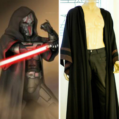 Star Wars: The Old Republic Sith Acolyte cape Cloak + pants Cosplay costume Y.10 - Sith Cosplay