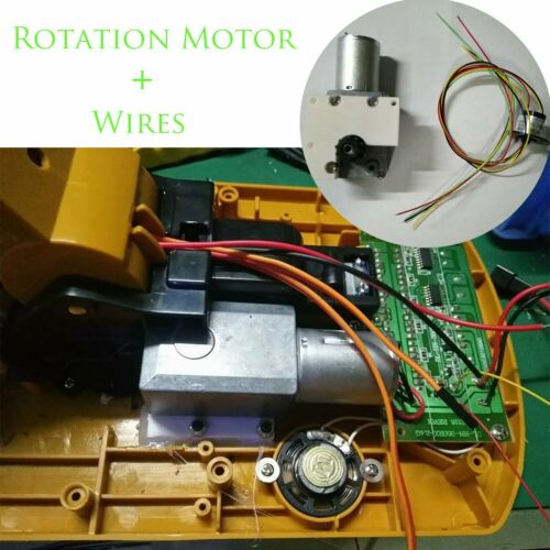 Metal Rotation Motor Wires Kit For HUINA Toys 15 Channels Excavator 550 350 510