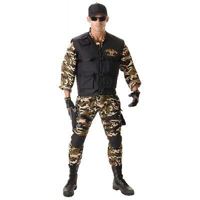 Navy SEAL Costume Adult Soldier Halloween Fancy - Navy Seal Costumes