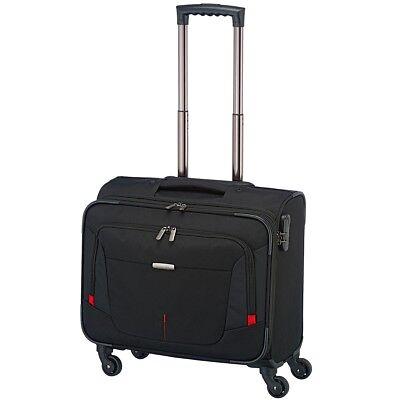 Laptop-trolley (Travelite Work 4 Rollen Businesswheeler Laptop Business Trolley bis 15,6 Zoll )
