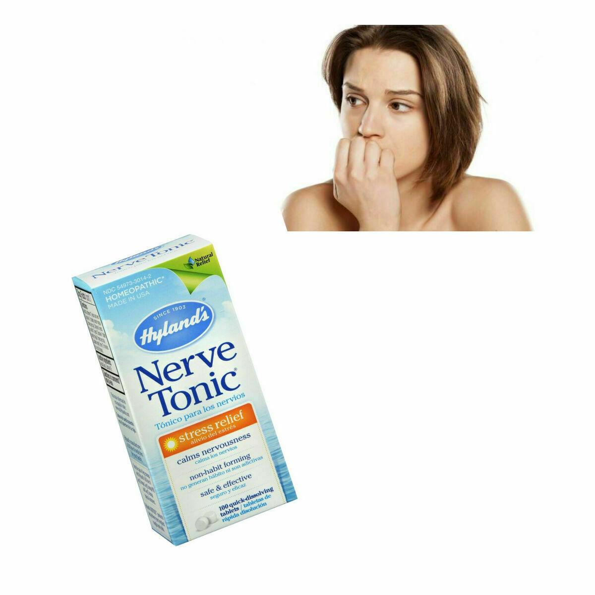 Pastillas Para Los Nervios Tratamiento Anti Estres Suplementos Aliviar Ansiedad 3