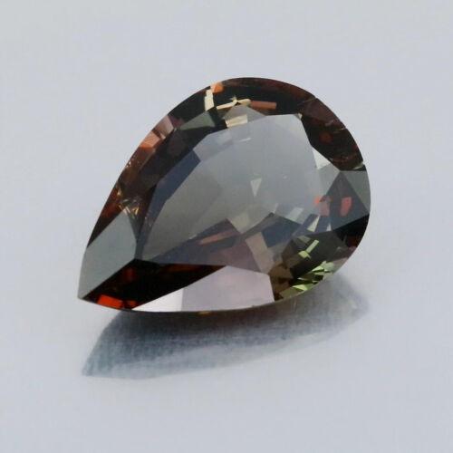 Video_7.98 Cts_Rare Natural Axinite_Tanzania_Vivid Multi Color_Pear Cut_B317