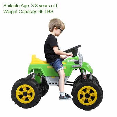 12V Electric Kids Ride On ATV Quad 4 Wheels Toy Battery Power Car w/ Music