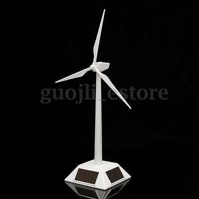 Solar Windmill - Science Toy Desktop Model Solar Powered Windmills Wind Turbine & ABS plastics US