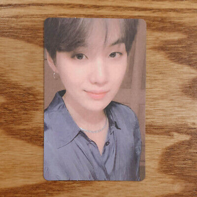 Suga Official Photocard BTS Map Of The Soul : Persona Ver 2 Genuine Kpop