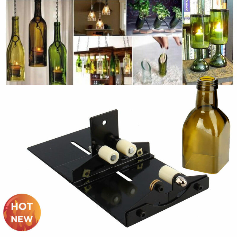 Beer Glass Wine Bottle Cutter Cutting Machine Jar DIY Kit Craft Recycle Tool S