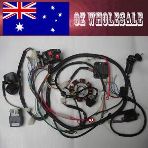 wire loom key solenoid magneto coil regulator cdi 150cc. Black Bedroom Furniture Sets. Home Design Ideas