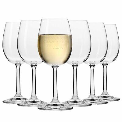 6x Weißweingläser Weinglas Weinkelch mit Stiel | Krosno Pure | 250 ML