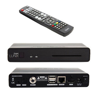 QVIART Lunix H265 HEVC Satellite Full HD Receiver Linux OS E2
