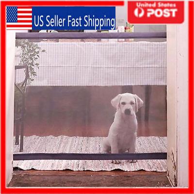 Mesh Dog Guards (Mesh Magic Pet Dog Gate Safe Guard And Install Anywhere Pets Safety Enclosure US )