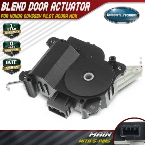 HVAC Heater Blend Door Actuator For Acura MDX Honda