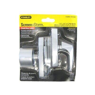 metal latching lock storm screen door knob