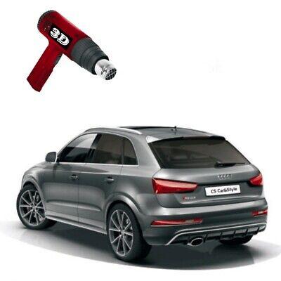3D-vorgewölbt Tönungsfolie passgenau schwarz 75% Mercedes GLK X204 2008-2015