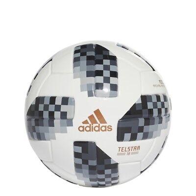Adidas World Cup Mini Soccer Ball 2018- Black (Model CE8139)