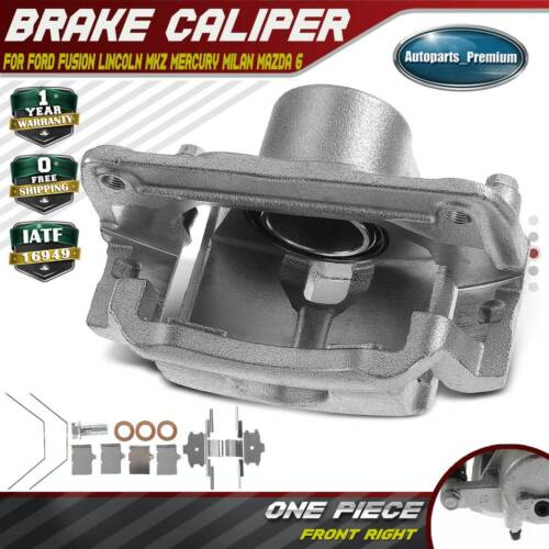 A-Premium Brake Caliper Assembly Replacement for Ford Fusion Lincoln MKZ Zephyr Mazda 6 Mercury Milan 2006-2012 Rear Passenger Side