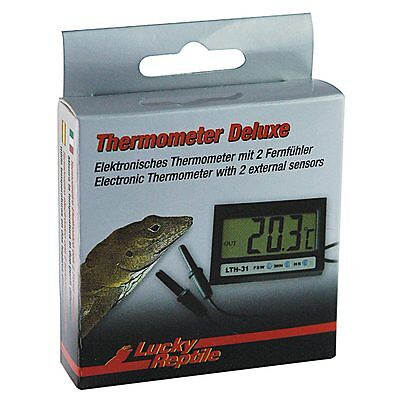 Lucky Reptile - Thermometer Deluxe mit zwei Fernfühlern