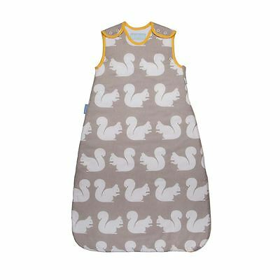 The Gro Company Kissing Squirrels Baby Grobag Sleeping Bag Sack - 6-18m, 1.0 Tog