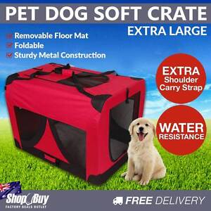 Free Delivery: XL Pet Soft Cage Puppy Dog Cat Collapsible Crate Melbourne CBD Melbourne City Preview