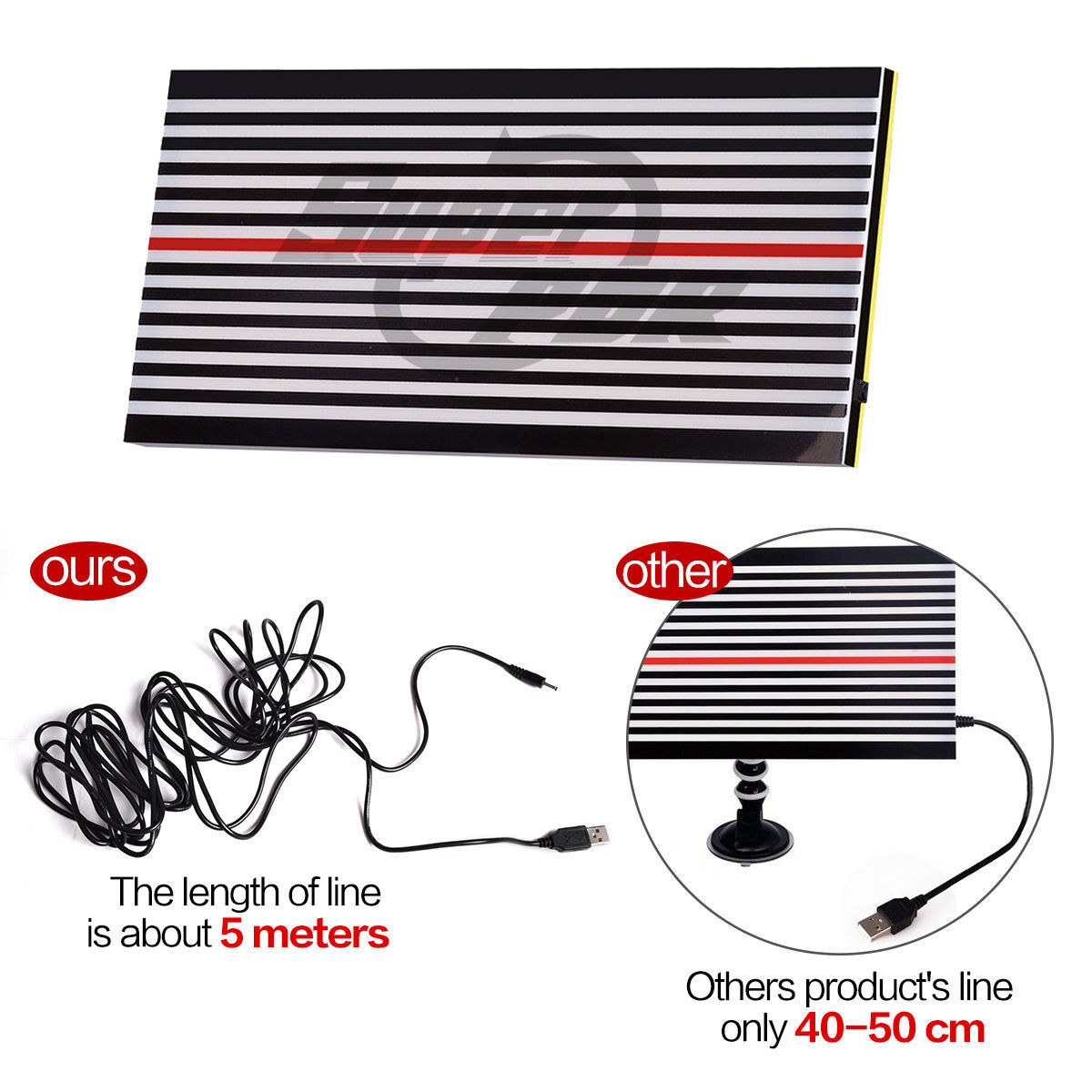 PDR Paintless Dent Removal Repair USB LED Line Board Light