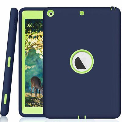 For Apple iPad Slim Best Heavy Duty Shockproof Armor Defender Hard Case (Best Protector For Ipads)