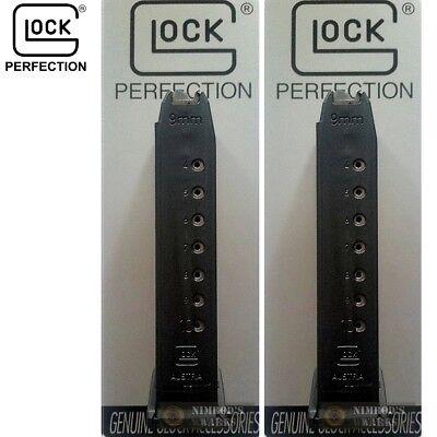 TWO GLOCK 17 34 G17 G34 9mm 10 Round Magazines Gen3 Gen4 10017 FAST (Glock 17 Gen 3 17 Round Magazine)