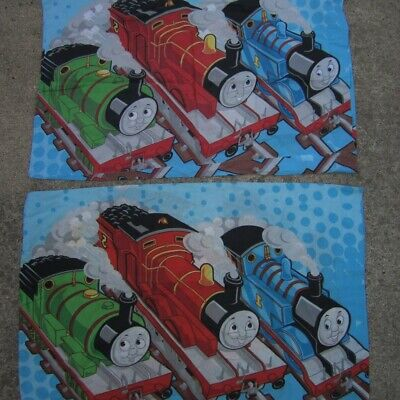 Thomas The Tank Pillow Case and 2 Other Engines Set of 2