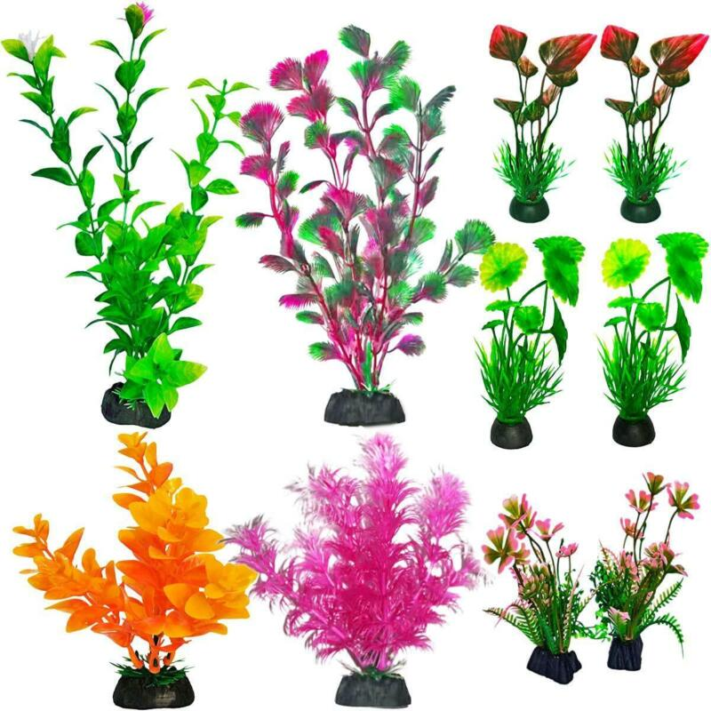 10 Premium Fish Tank Accessories or Fish Tank Decorations ,a Variety of Sizes