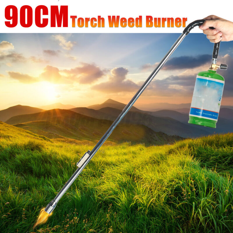 Weed Burner Butane Torch Push Button Igniter Wand Ice Snow Melter Fire Starte