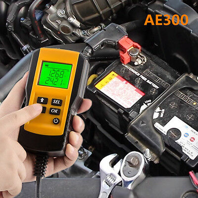 AE300 Battery Tester Hot Portable LCD Display For All Car All Battery Analyzer