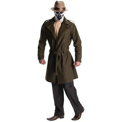 Rorschach Costume Adult The Watchmen Walter Kovacs Halloween Fancy Dress](Rorschach Halloween Costume)