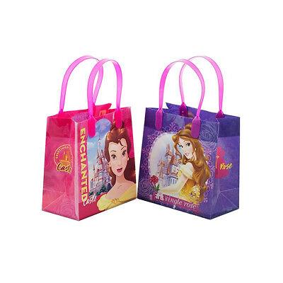 2PCS Disney Princess Belle Beauty and Beast GOODIE BAGS PARTY FAVOR BAGS GIFT - Disney Princess Goodie Bags