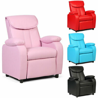 New Kid Recliner Sofa Armrest Chair Couch Children Living Room Furniture Home ()
