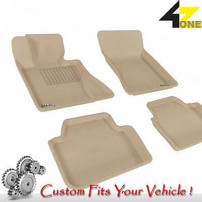 3D Fits 2004-2010 BMW X3 G3AC25069 Tan Carpet Front and Rear Car Parts For Sale