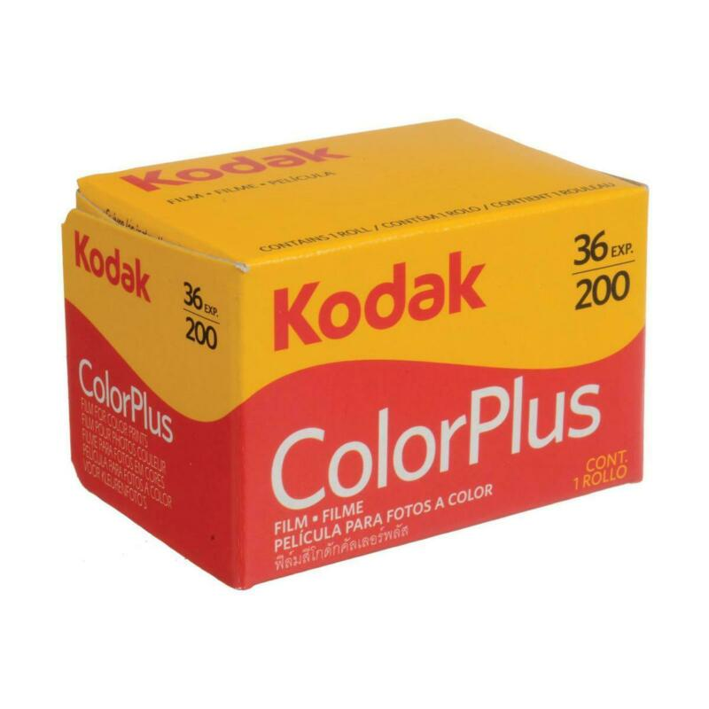 Kodak ColorPlus 200 35mm Color Negative Film, 36 Exposure