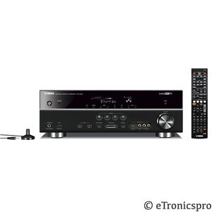 Yamaha 525w 5 1ch home digital receiver amp amplifier home for Yamaha home theater amplifier