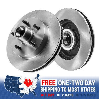 Front Brake Rotors For Chevy C1500 Express Van Suburban Tahoe GMC Savana Yukon
