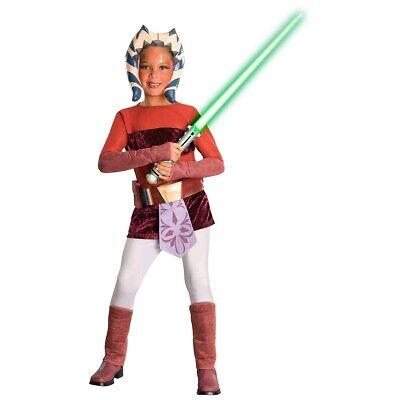 Ahsoka Tano Costume Kids Star Wars The Clone - Ahsoka Tano Halloween Kostüm