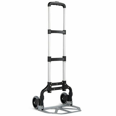 Folding Hand Truck Dolly Aluminum 176 lbs Capacity Heavy Dut