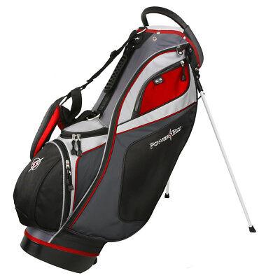 Powerbilt TPS Dunes 14-Way Black/Charcoal Stand Golf Bag - N