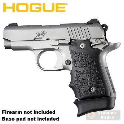 Hogue KIMBER Micro 9 GRIP Finger Grooves Ambi Rubber 39080 FAST SHIP