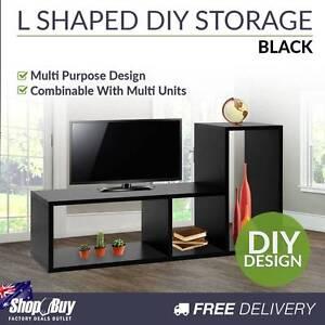 Free Delivery: L Shape Display Shelf DIY Cube TV Stand Bookshelf Melbourne CBD Melbourne City Preview