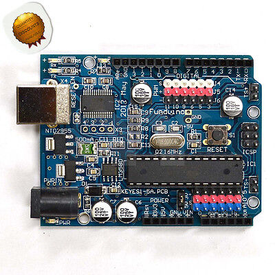 Funduino Compatible Uno R3 Improved Version Super Atmega328p Development Board