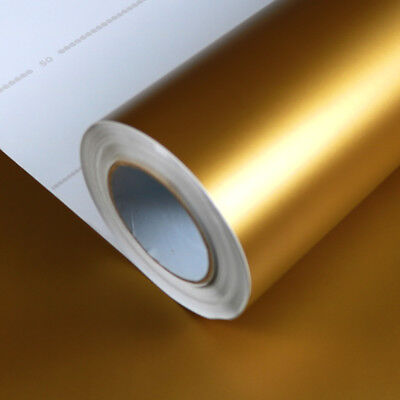 Allvi Car Wrapping Film Matte Gold | Auto Folie - 10,36€/m²