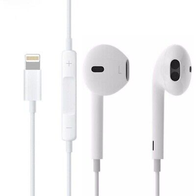 Genuine Apple Lightning EarPods for iPhone 7 7plus 8 X XS Max Headphone Earphone