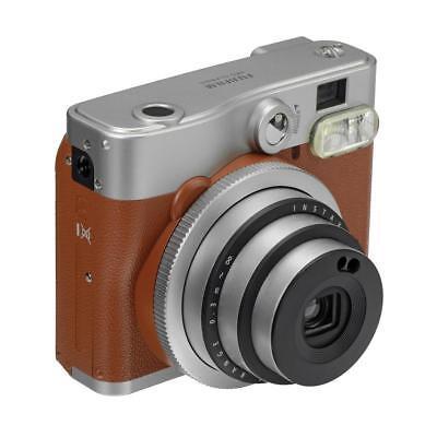 Fujifilm Instax Mini 90 Neo Classic Camera, Instant Film Camera, USA - Brown