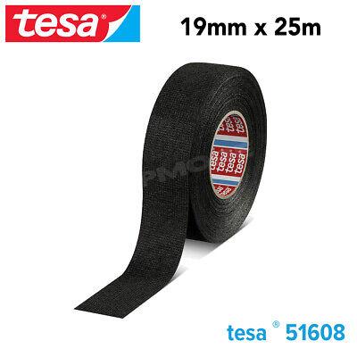 Tesa Se 51608 Pvo Soft Pet Fleece Tape 19 Mm X 25 M Roll For Flexibility N Noise