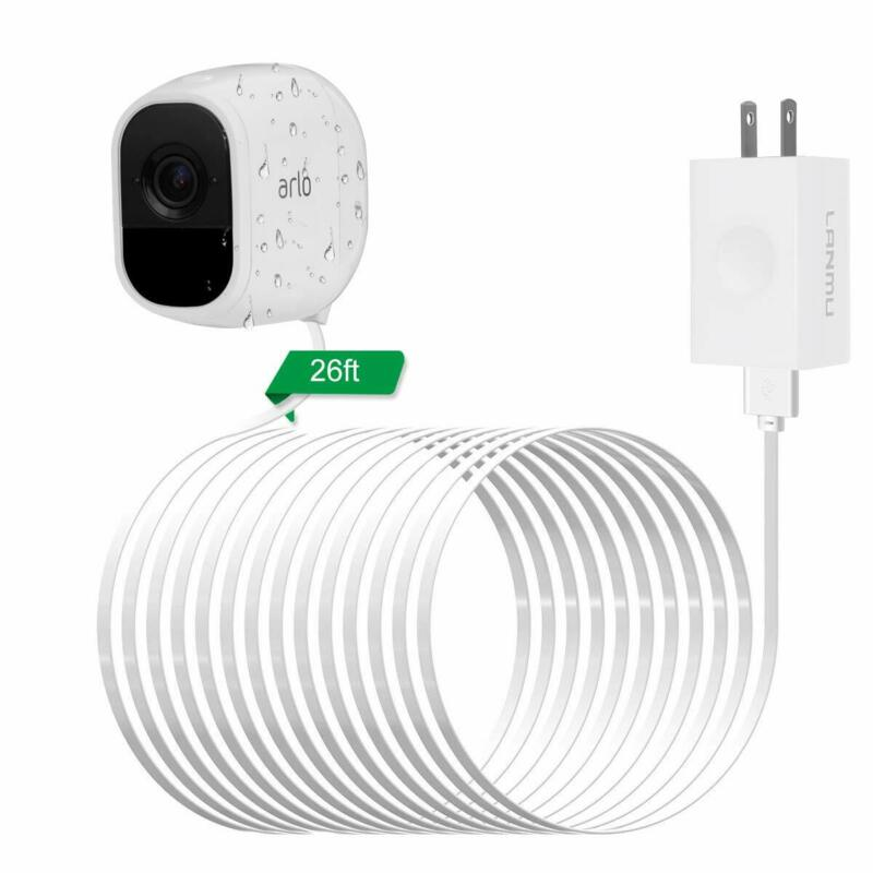26ft/8M Power Cable Adapter for Arlo Pro & Pro 2 & Arlo Go & Arlo Security Light