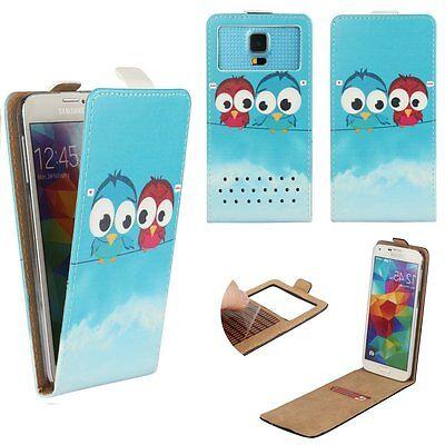 Mobile FLIP Cover With Card Holder For Acer Liquid Zest 3G - Cartoon Bird M Flip