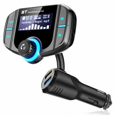Bluetooth FM Transmitter KFZ Auto Radio 2x USB Freisprechanlage Anschluss FLEX